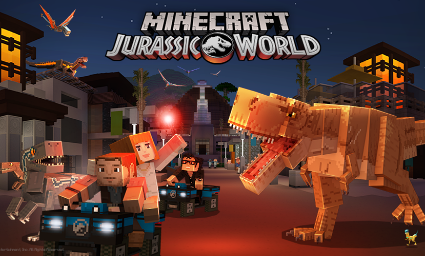DLC Jurassic World Rilis Di Minecraft